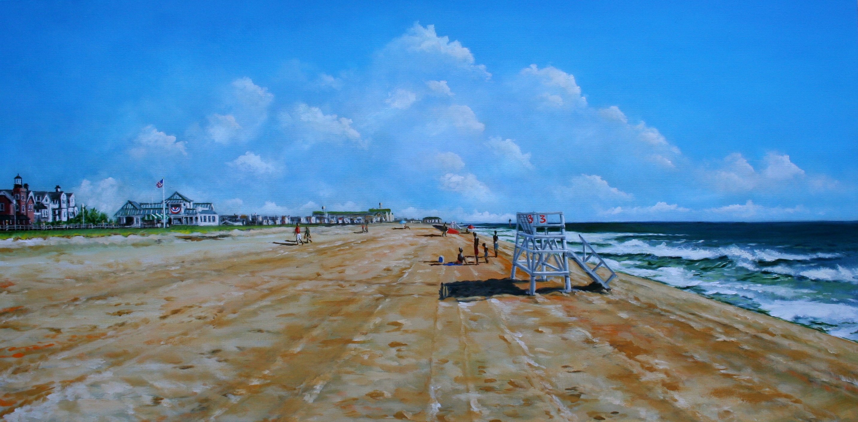 """Sea Girt Beach Early Morning"""