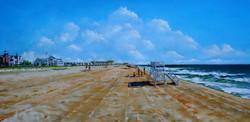 """Sea Girt Beach Early Morning"""