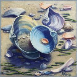 Shells #17 Nested Clamshells