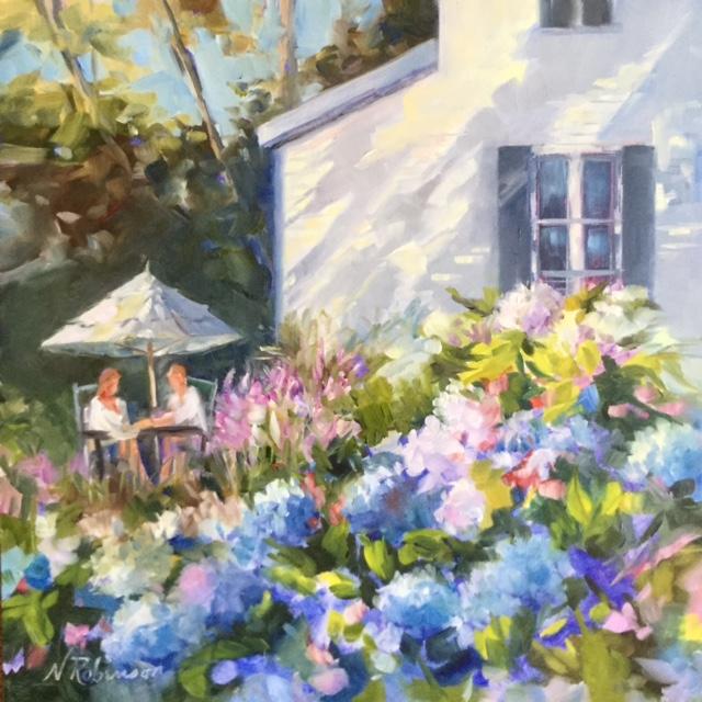 In the Garden, Nantucket