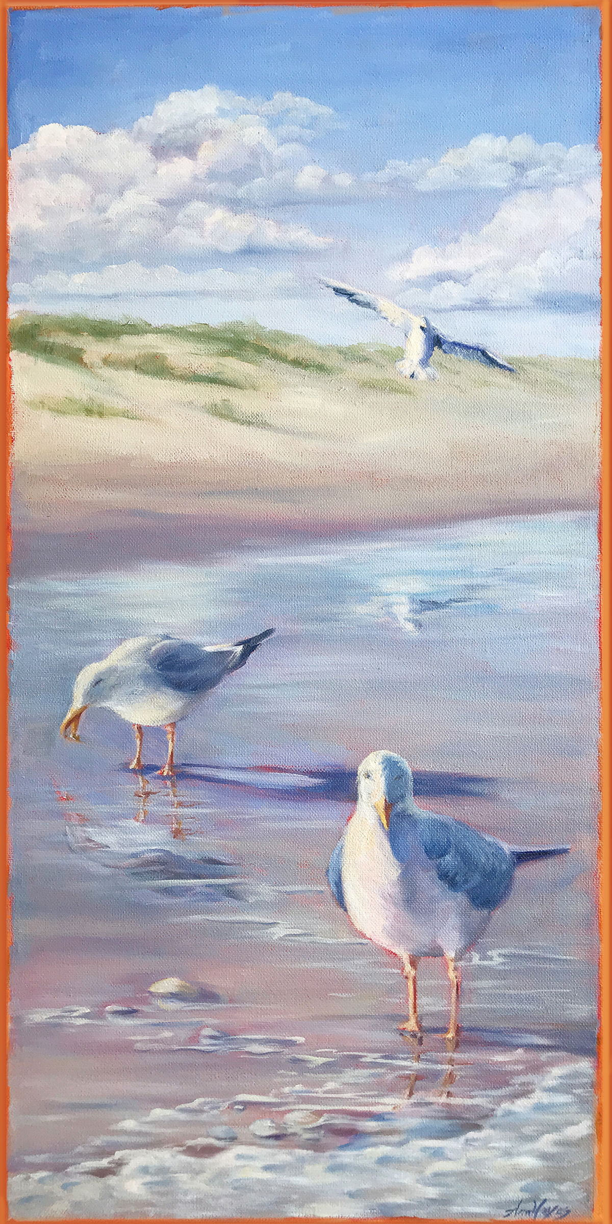 Three Gulls