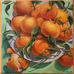 _Mandarins_ 8x8 Oil Ann Hayes $245.00