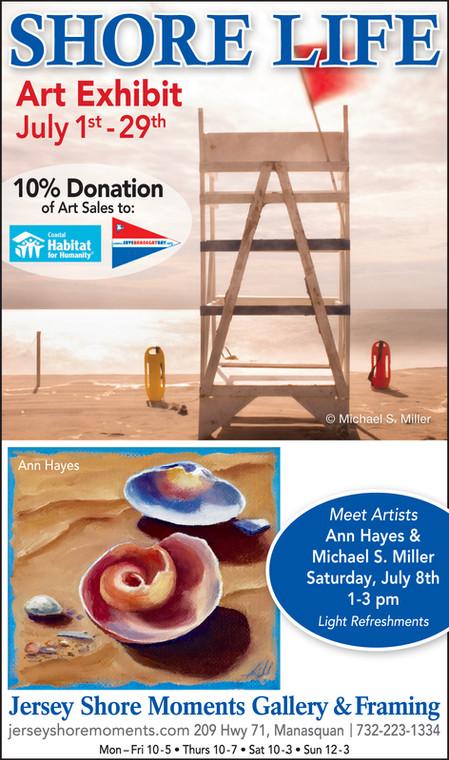 Shore Life Art Exhibit
