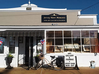 Jersey Shore Moments Brick and Mortar conveniently located on Hwy 71 in Manasquan