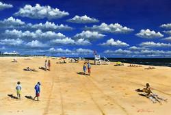 Sea Girt Beach Mid-day June Andrew Huntley Robertson