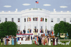 Cocktails at the White House