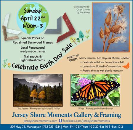 Celebrate Earth Day Sunday, April 22nd
