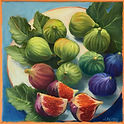"""Figs"" 8x8 Oil Ann Hayes $245.00"