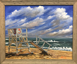 """Lifeguard Chair #3 - Sea Girt"""