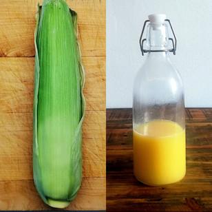 Corn Cordial (Husk, Silk, Core and Corn)