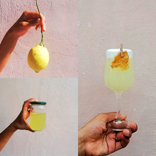 Sustainable Limoncello and Lemon Cracker
