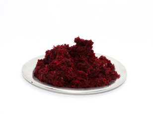 Reusing Leftover Beetroot Pulp