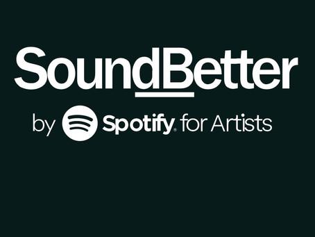 I'm now on SoundBetter!