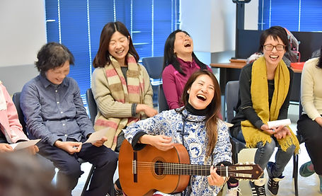 周雪甄 Cat Chau 帶領團體音樂治療體驗