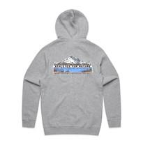 Mens Official Zip Hood - Back - Grey Marle.jpg