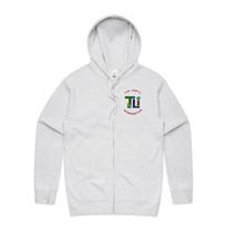 Mens Official Zip Hood - Front - White Marle.jpg