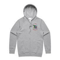 Mens Official Zip Hood - Front - Grey Marle.jpg