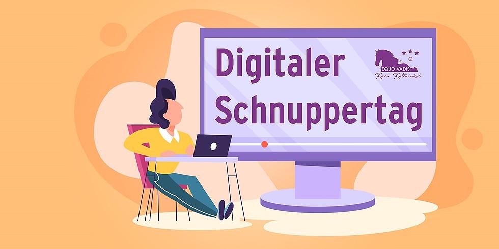 Digitaler Schnuppertag