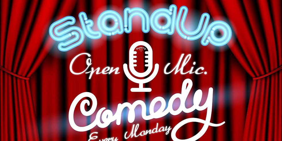 Duffy's Open Mic Comedy Workshop