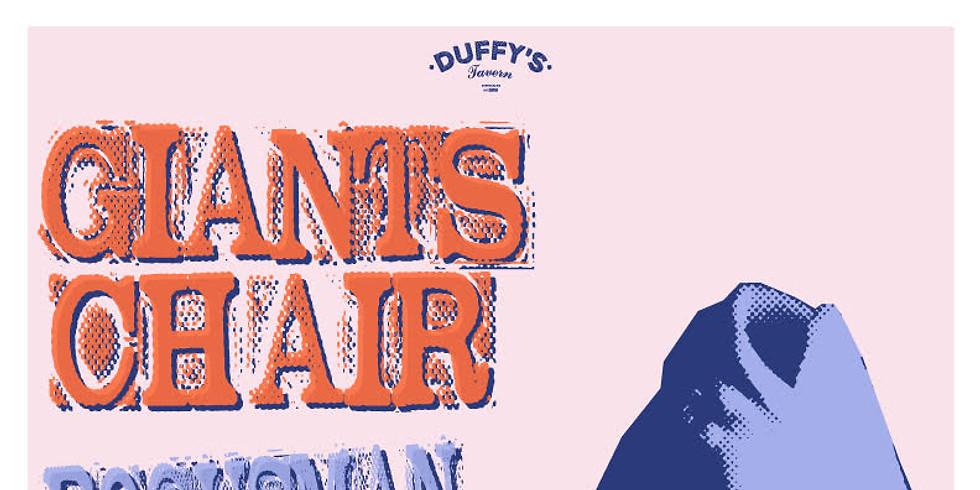 Giant's Chair w/ Sweats and Bogusman