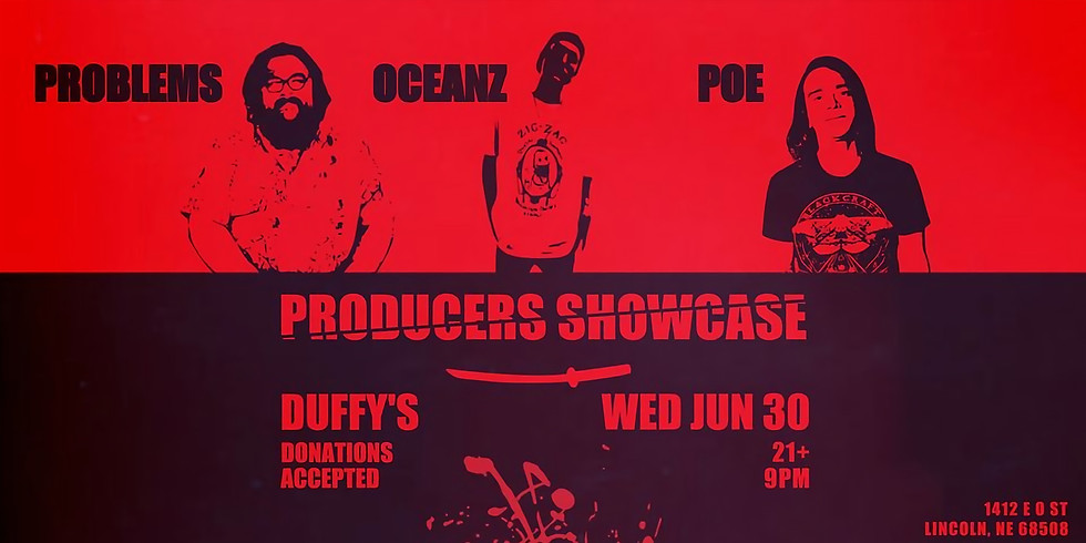 Producers Showcase at Duffy's - A Night of Original Music