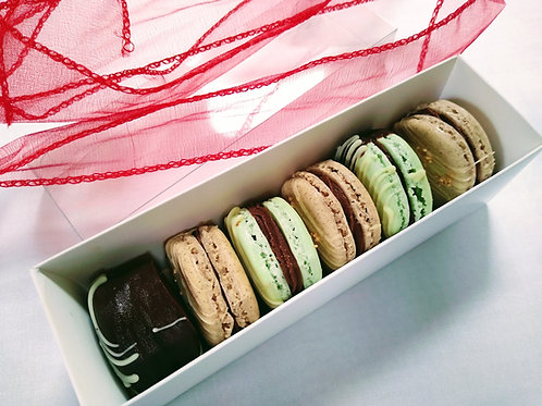 Limited edition macarons