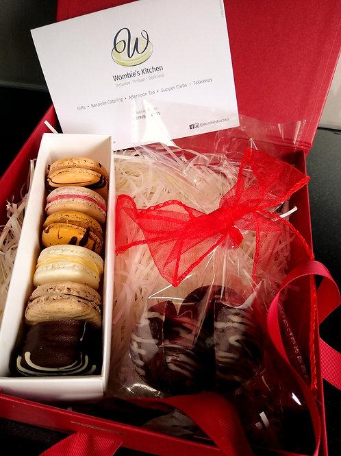 Macarons & Domes Gift Box