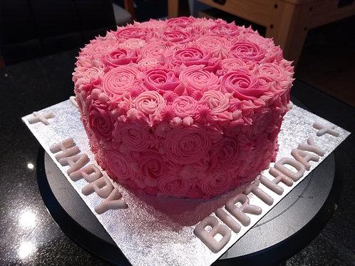 Flowery Celebration Cake