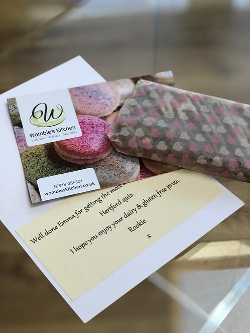 Add a personalised gift card