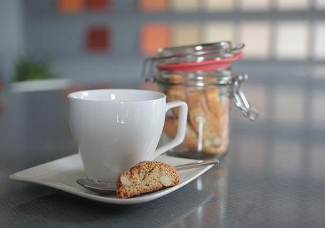 Trinken Sie einen feinen Kaffee bei uns