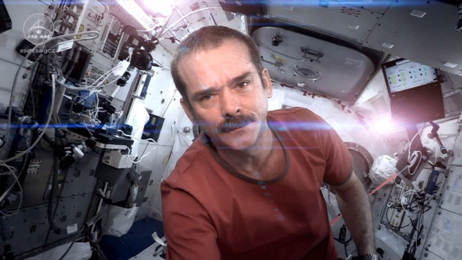 Astronaut Chris Hadfield Wins at the Internet, Space, and Life