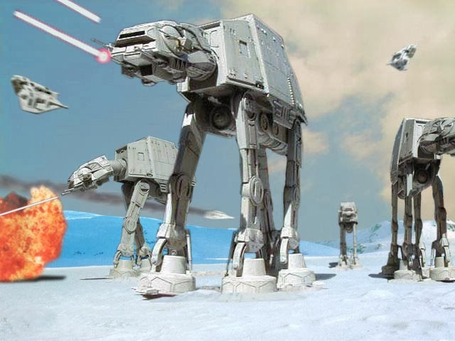 """Well, the U.S. Army is Designing...an Imperial Walker"""
