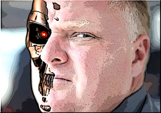 Rob Ford An Unstoppable Machine Sent from the Future?