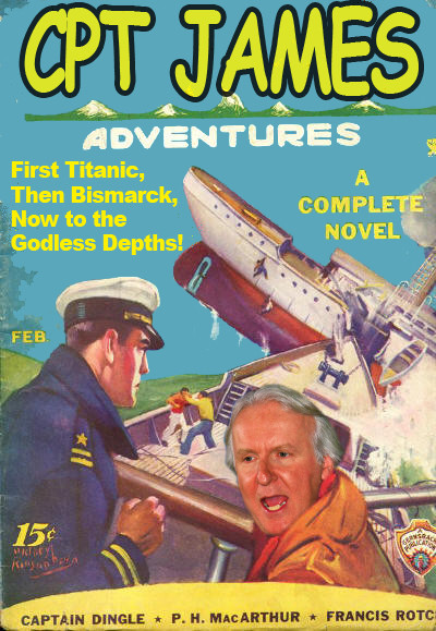 The Harrowing Adventures of James Cameron!