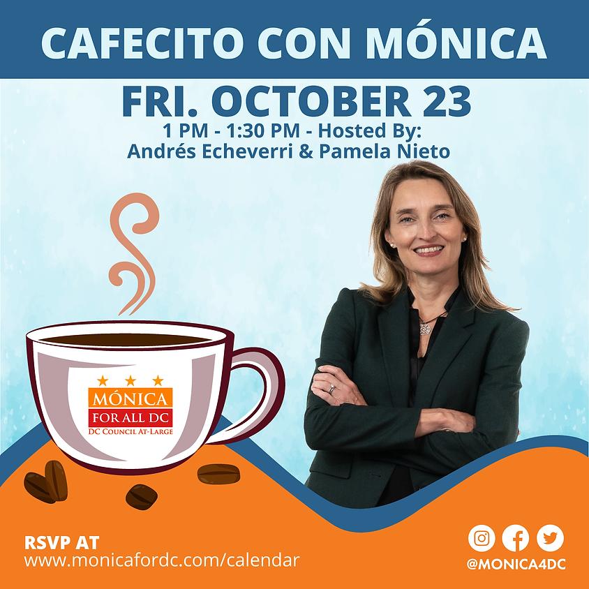 Cafecito con Mónica Hosted by Andrés Echeverri and Pamela Nieto