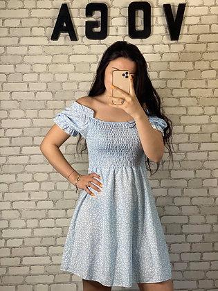 Robe Shana Bleu