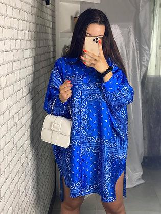 Chemise Rulia bleu
