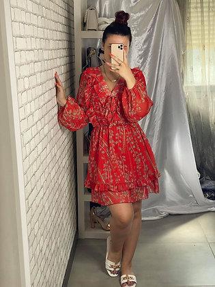 Robe Louane rouge