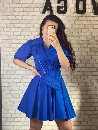 Robe Jane Bleu