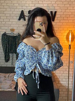 Hauts Eva Bleu