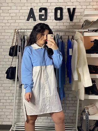 Robe Elsa bleu