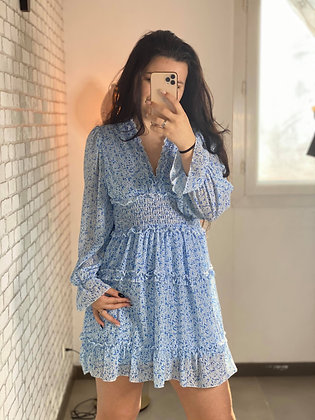 Robe Lana bleu