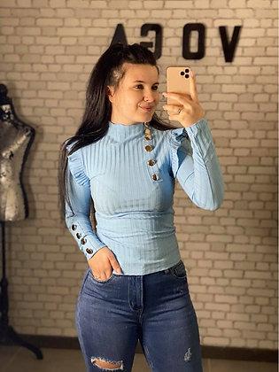 Haut Leslie Bleu