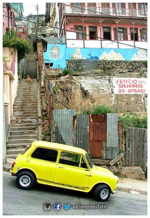 Facebook - ©Adrián Gómez  Serie: Chile  #AdrianGomezFoto #Chile #Valparaiso