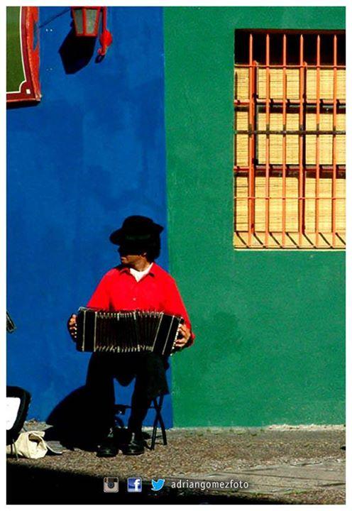 Facebook - ©Adrián Gómez  #AdrianGomezFoto #Caminito #LaBoca #Tango #BuenosAires