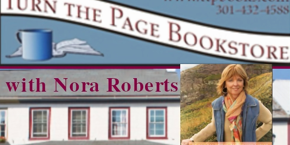 CANCELED : BOOK SIGNING: Turn The Page Bookstore with Nora Roberts