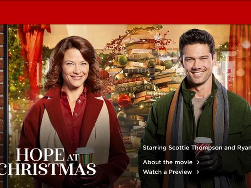 Nov 1st Hope at Christmas on Hallmark Movies & Mysteries