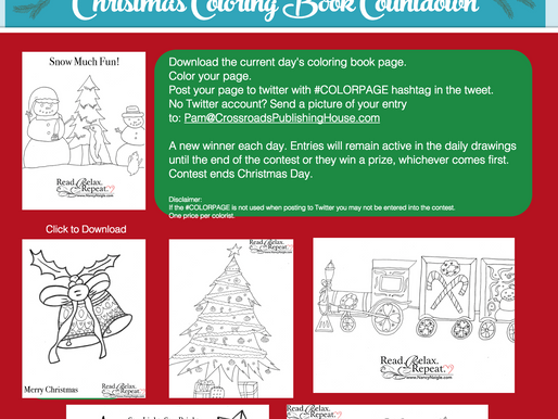 Christmas Coloring Book Countdown