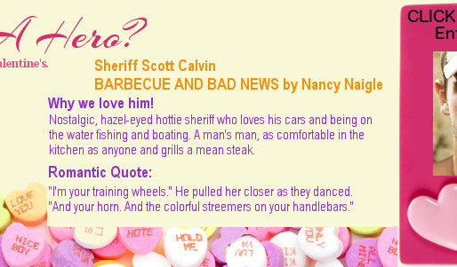 NEED A HERO? How about Sheriff Scott Calvin?