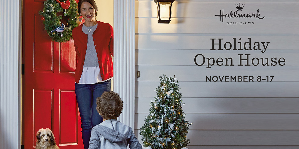 BOOK SIGNING: Hallmark Holiday Open House, Charlotte, NC